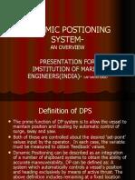 Dynamic Postioning System