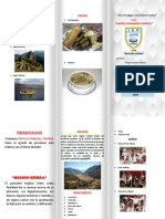 Triptico de la sierra peruana