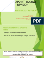 Checkpoint Biology Revision