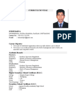 Resume of Sudip - Email