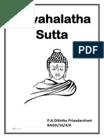 Jawahalatha Sutta 1