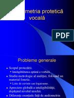Audiometria vocală