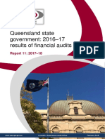 Summary-queensland State Government-2016-17 Results of Financial Audits Report 11-2017-18