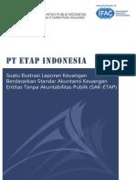 PT ETAP Indonesia Suatu Ilustrasi Lapkeu Berdasarkan SAK ETAP for Published 080415 _ Yumpu Downloader