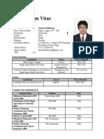 CV Danuta 2014