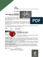 FACT SHEET.tres Ataques de Corazon & Isang Araw Sa Karnabal