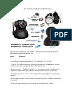 Camera Ip Sem Fio Wireless Movimentação