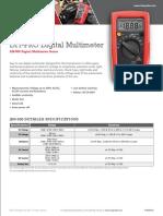AM-500 Digital Multimeter