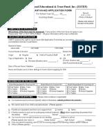 GIA Application Form.2018