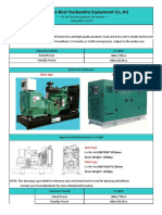 FOB Qingdao Price for 60kw Cummins Generator