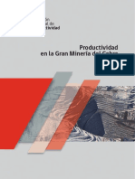 Informe Final Productividad en La Gran Mineria Del Cobre 2