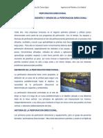 Perforacion Direccional Informe de Antonio