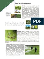 Different Pest Control Method