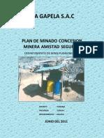 Plan de Minado Gapela 2011