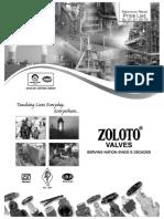 Zoloto Valves Price List