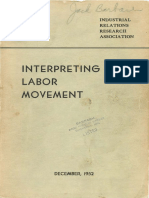 Interpreting the Labor Movement
