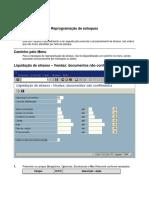 SAP V_V1 - Reprogramação de Estoq