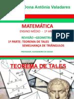 Revisao Geometria 1 Parte