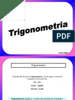 Revisão Trigonometria