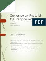 Contemporary Fine Arts in the Philippine Regions.pptx