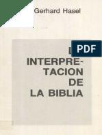 [1986] Hasel - La Interpretación de la Biblia.pdf