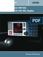 RT5022 RT5020 VHF DSC Opeation Manual-2