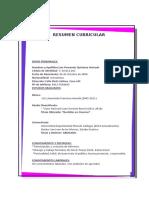 Curriculum de Fernando
