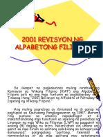 2001 Revisyon ng Alpabetong Filipino2.ppt