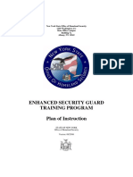 Enhanced Security Guard Training Program