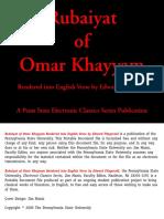 RUBAIYAT OF OMAR KHAYYAM .pdf
