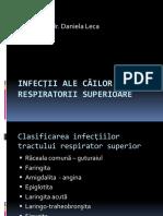 Infectii Ale Cailor Respiratorii Superioare