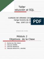 Clase Base de Datos 2da