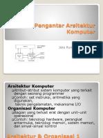 Pengantar Arsitektur Komputer (Lec1)