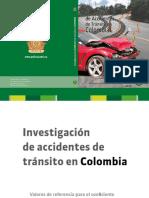 Libro Investigacion Accidentes de Transito en Colombia