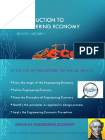 EECO101_LEC1_Introduction to Engineering Economy