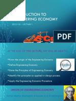 EECO101_LEC1_Introduction to Engineering Economy