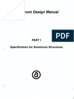 Aluminum Design Specifications AA