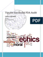 FDA Audit Readiness Guide PRES by Palash Das