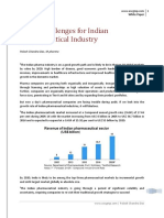 Global Challenges for Indian Pharmaceutical Industry_White Paper