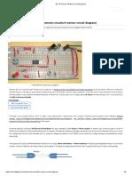 DIY IR Sensor Module Circuit Diagram