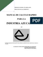 Calculos Industria Azucarera