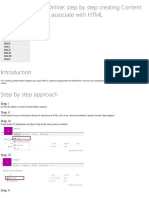 User Guide for Step by Step Creating Content Editor Webpart for O365 - SharePoint Online