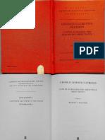 Georgius Gemistus Plethon - Contra Scholarii Pro Aristotele Obiectiones. (Ed. Maltese, 1988)
