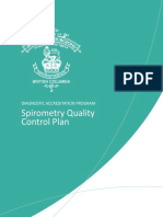 DAP SP Quality Control Plan