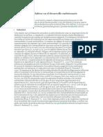 Adaptaciones Evolutivas en El Desarrollo Embrionario