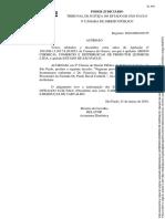 Acórdão - Manutenção de Creditamento Especial - TJSP