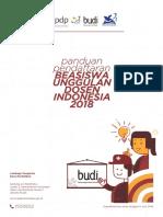 Panduan BUDI 2018