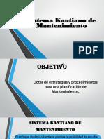 1-Sistema Kantiano de Mantenimiento