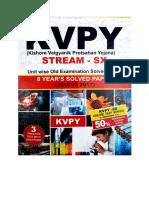 KVPY Solved Paper