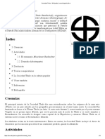 Sociedad Thule - Wikipedia, La Enciclopedia Libre